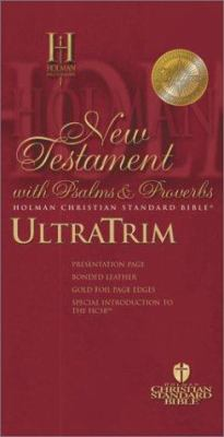 Ultratrim New Testament with Psalms and Proverbs-Hcsb 9781586400224
