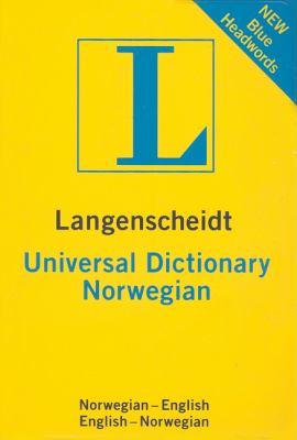 Universal Dictionary Norwegian 9781585735839