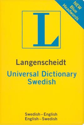Universal Dictionary Swedish 9781585735846