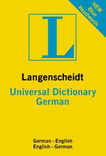 Universal German Dictionary: German-English, English-German