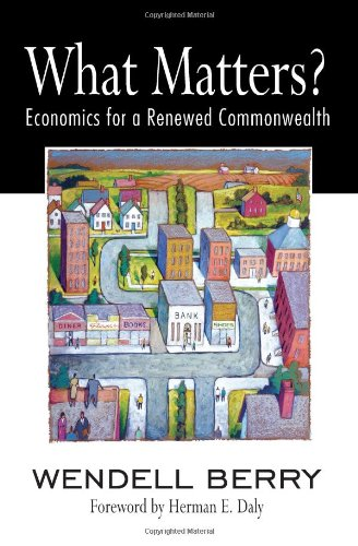 What Matters?: Economics for a Renewed Commonwealth 9781582436067