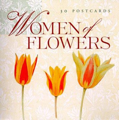 Women of Flowers: Postcard Book 9781584790143