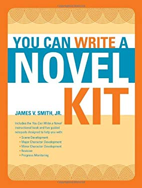 You Can Write a Novel Kit [With You Can Write a Novel Instructional Book and 5 Guided Notepads] 9781582975269
