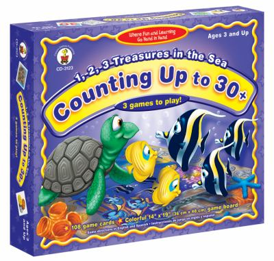 1,2,3, Treasures in the Sea: Counting Up to 30+ 9781594418297