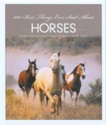 1001 Best Things Ever Said about Horses 9781592289837