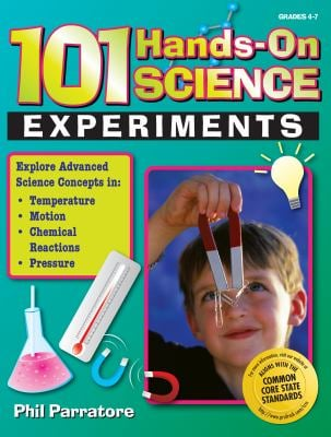 101 Hands-On Science Experiments, Grades 4-7 9781593633172