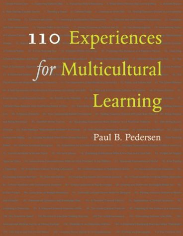 110 Experiences for Multicultural Learning 9781591470823