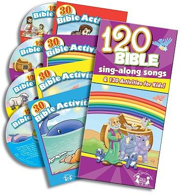 120 Bible Songs & Activities 9781599221670