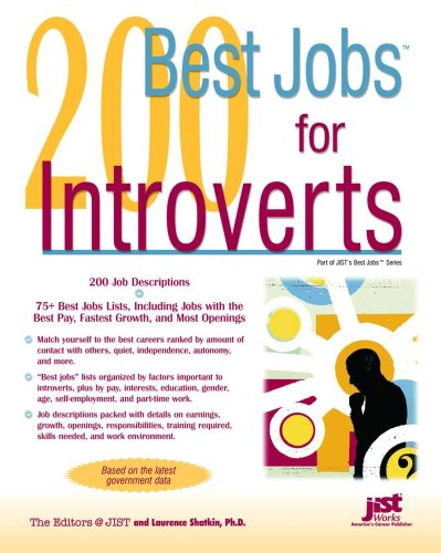 200 Best Jobs for Introverts 9781593574772