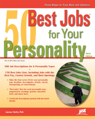 50 Best Jobs for Your Personality 9781593579104