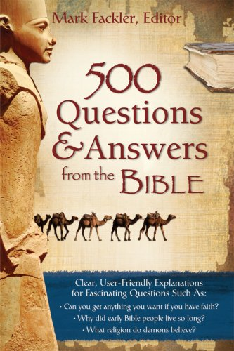 500 Questions & Answers from the Bible 9781597894739