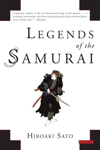 Legends of the Samurai 9781590207307