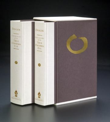 Treasury of the True Dharma Eye: Zen Master Dogen's Shobo Genzo, Two-Volume Slipcased Edition