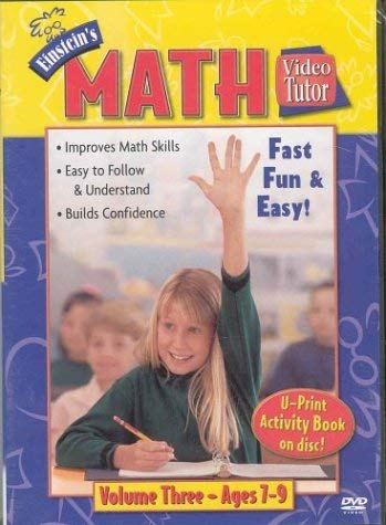 Einstein's Math Video Tutor Vol. 3 DVD