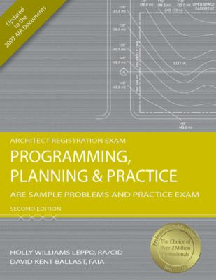 Programming, Planning & Practice: Are Sample Problems and Practice Exam 9781591263272