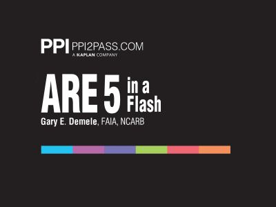 ARE 5 in a Flash: Rapid Review of Key Topics