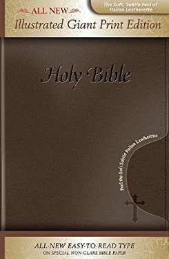Illustrated Giant Print Bible-KJV