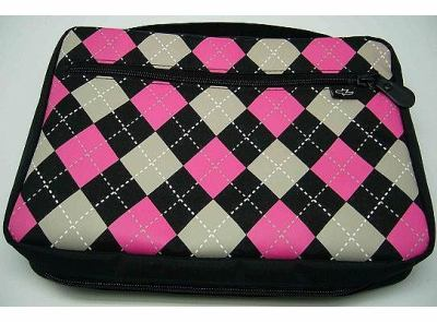 Black/ Pink/ Gray Argyle-XL 9781592027507