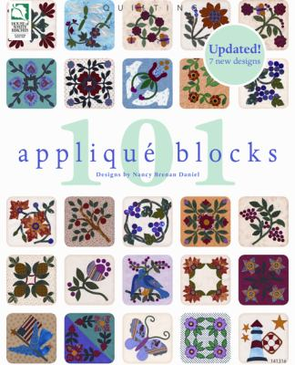 101 Applique Blocks 9781592173136