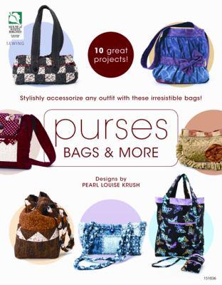 Purses, Bags & More (9781592173167) photo