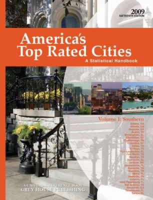 America's Top Rated Cities, Volume 1: Southern: A Statistical Handbook 9781592374113