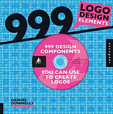999 Logo Design Elements [With CDROM] 9781592536832