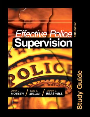 Effective Police Supervision 9781593454579