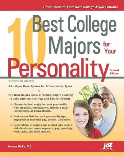 10 Best College Majors for Your Personality 9781593578633