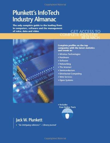 Plunkett's Infotech Industry Almanac 2011 9781593921910