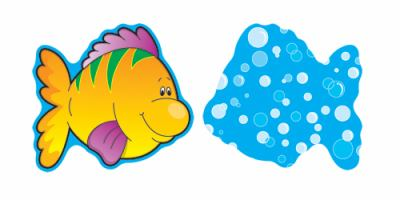 Fish Mini Cut-Outs 9781594415883