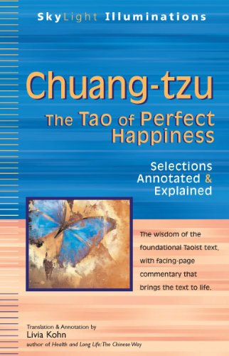 Chuang-Tzu: The Tao of Perfect Happiness 9781594732966