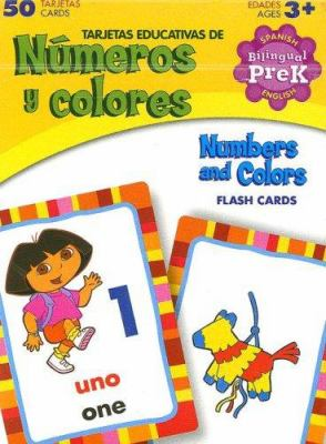 Dora the Explorer Numbers and Colors Flash Cards: Pre K 9781595450579