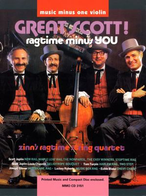 Great Scott!: Ragtime Minus You, Violin [With CD (Audio)] 9781596151802