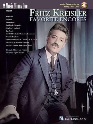 Kreisler: Favorite Encores, Violin [With 2 CDs] 9781596151949