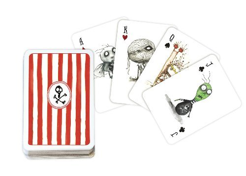 Tim Burton Playing Cards 9781596177376