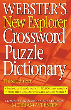 Webster's New Explorer Crossword Puzzle Dictionary 9781596951136