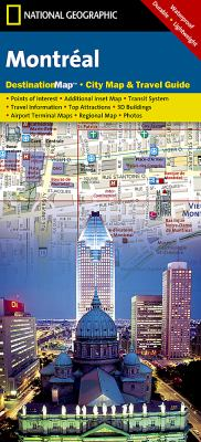 Montreal City Map & Travel Guide 9781597753128