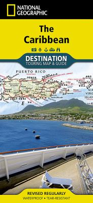 The Caribbean Destination Guide Map 9781597754538