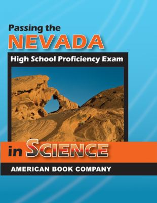 Passing the Nevada High School Proficiency Exam in Science 9781598071214