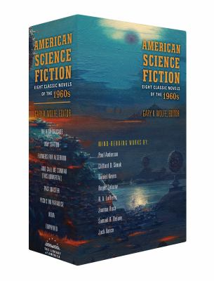 American Science Fiction: Eight Classic Novels of the 1960s 2C BOX SET: The High Crusade / Way Station / Flowers for Algernon / ... And Call Me Conrad