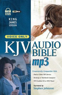 MP3 Bible-KJV-Voice Only 9781598569322