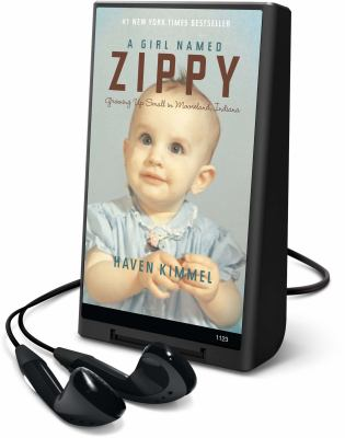 A Girl Named Zippy: Growing Up Small in Mooreland, Indiana [With Headphones] 9781598952094