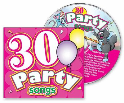 30 Party Songs 9781599221595