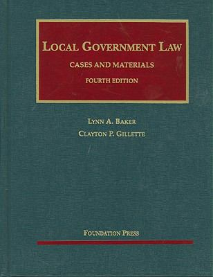 Local Government Law: Cases and Materials 9781599414201