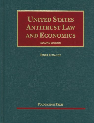 United States Antitrust Law and Economics 9781599418803