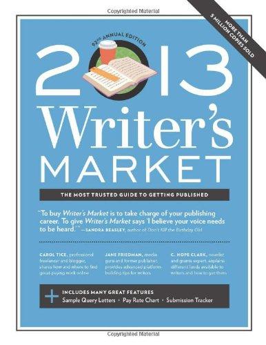 2013 WRITER S MARKET 9781599635934