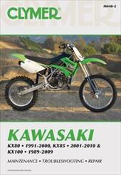 Clymer Kawasaki KX80 1991-2000, KX85 2001-2010 & KX100 1989-2009 - Morlan, Mike