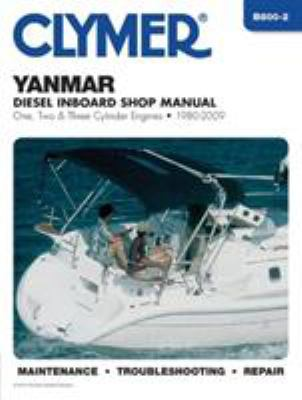 Clymer Yanmar Diesel Inboard Shop Manual 1980-2009 9781599694573