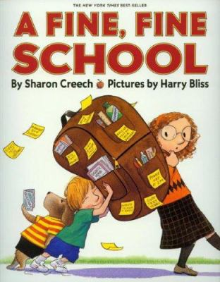 A Fine, Fine School [With Hardcover Book] 9781591124962