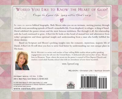 A Heart Like His: Intimate Reflections on the Life of David 9781598591040